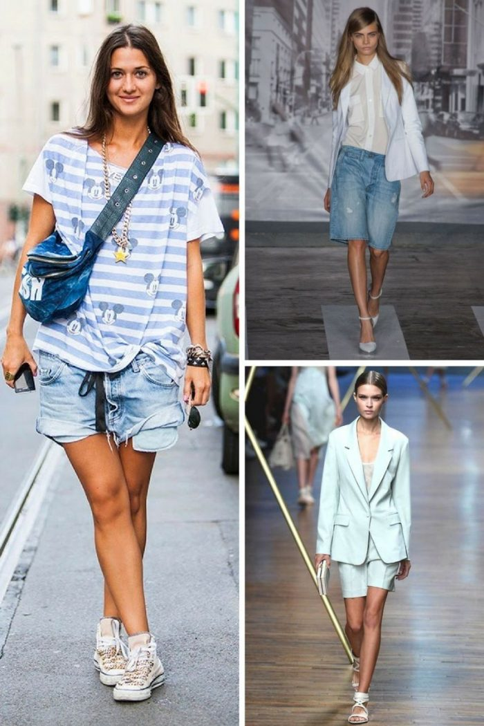 Bermuda Shorts For Women 2019 Stylefavourite Com