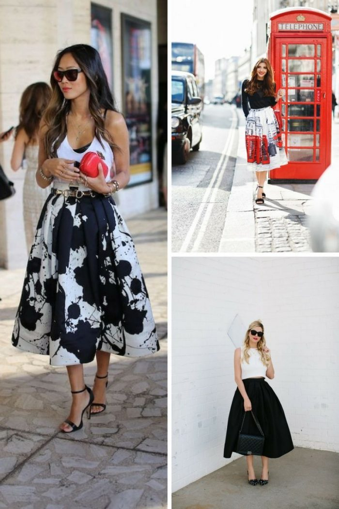 Full Skirts Inspiring Outfit Ideas 2019