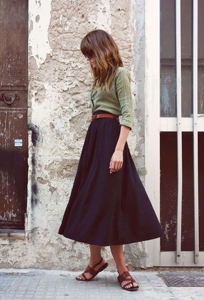 How To Make Calf-length Skirts Look Awesome 2019