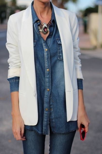 Chambray Shirts For Women 2019