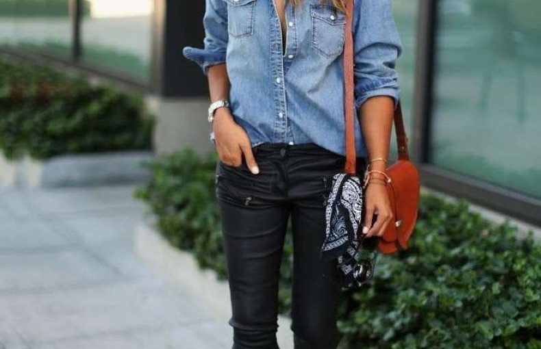Chambray Shirts For Women