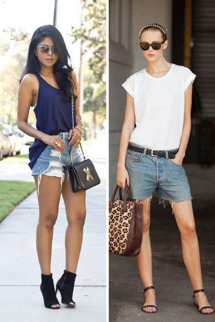2018 Cutoff Denim Shorts For Women (1)