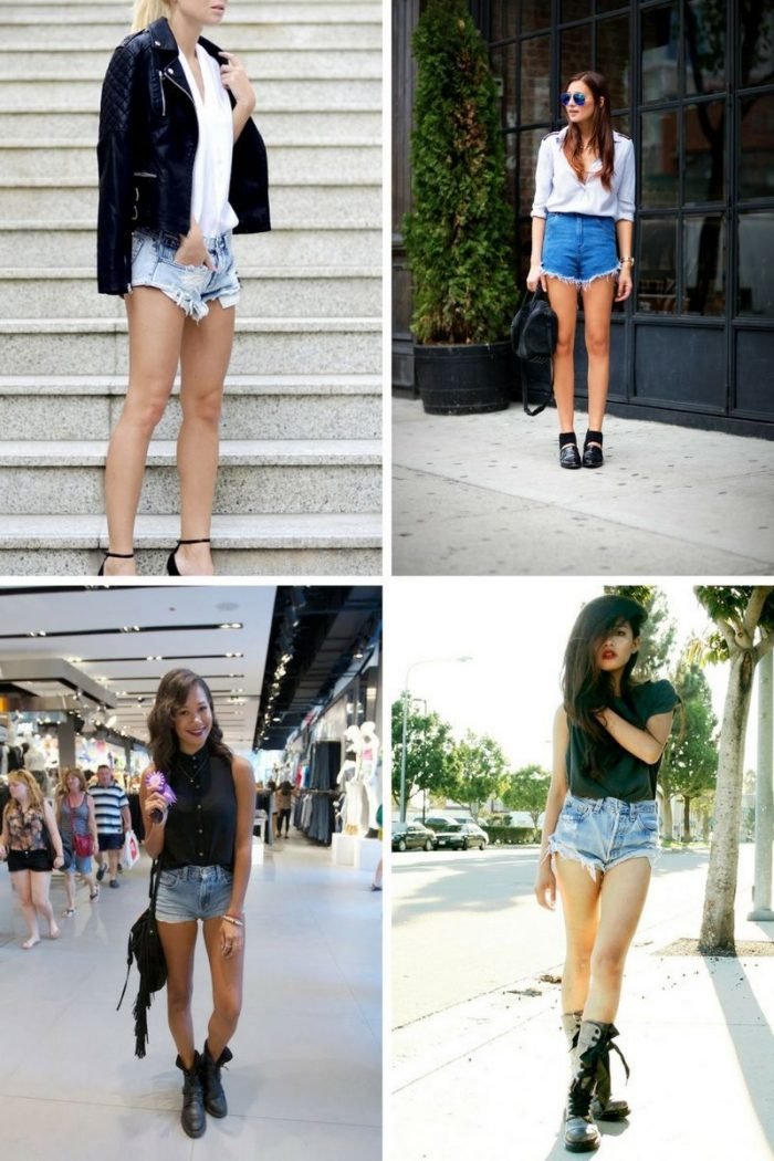 2018 Cutoff Denim Shorts For Women (10)