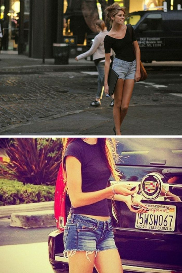2018 Cutoff Denim Shorts For Women (13)