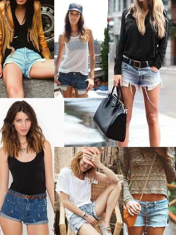 2018 Cutoff Denim Shorts For Women (15)