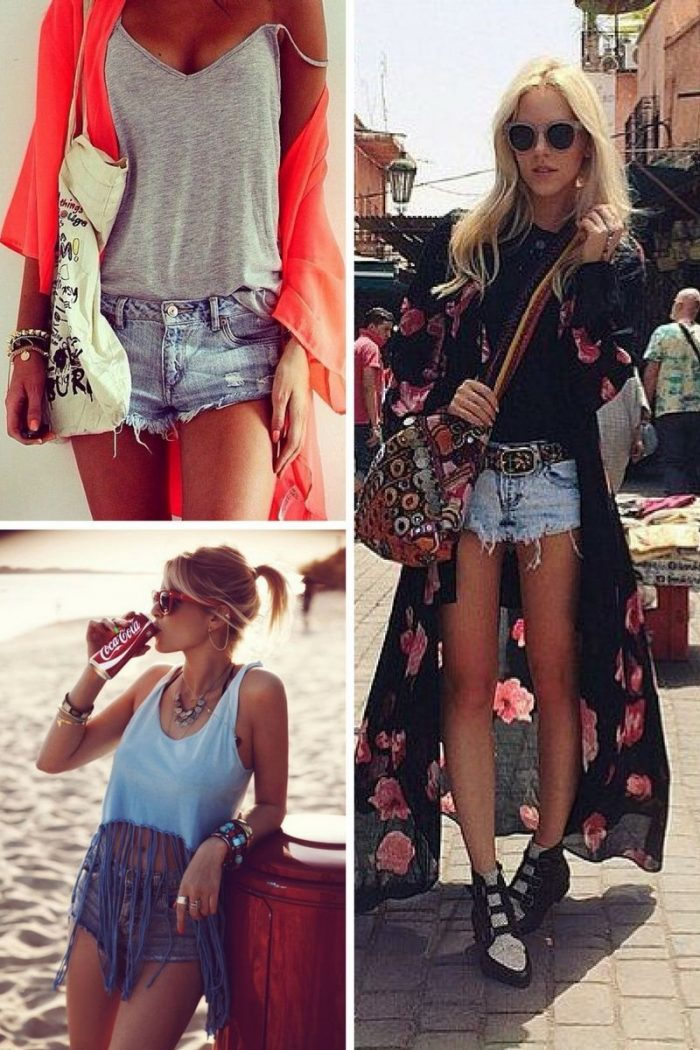 2018 Cutoff Denim Shorts For Women (3)