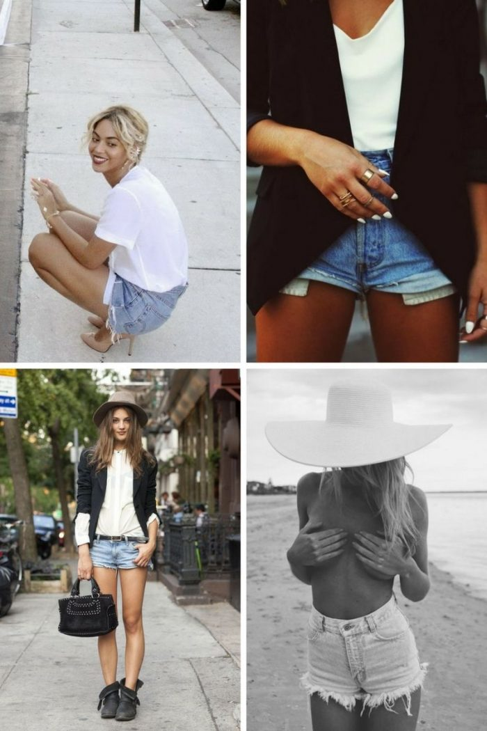 2018 Cutoff Denim Shorts For Women (4)