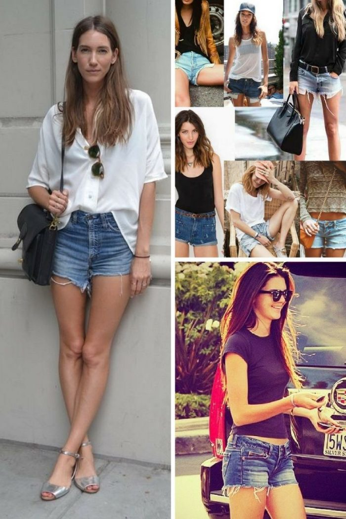 2018 Cutoff Denim Shorts For Women (5)