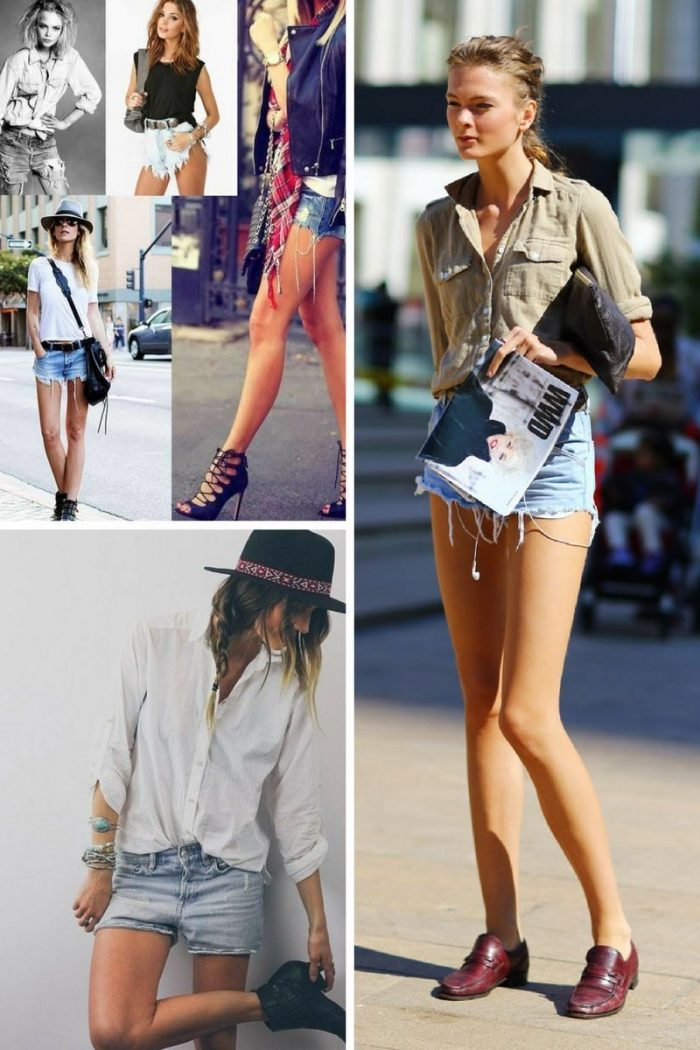 2018 Cutoff Denim Shorts For Women (6)