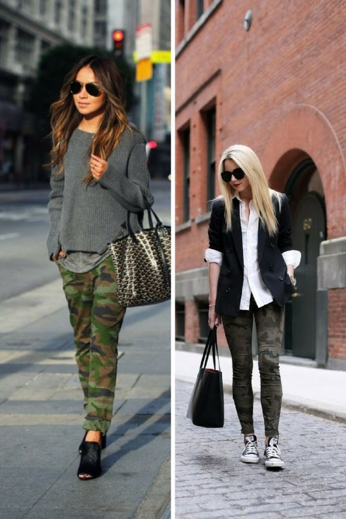 2018 Fall Camouflage Fashion For Women (1)