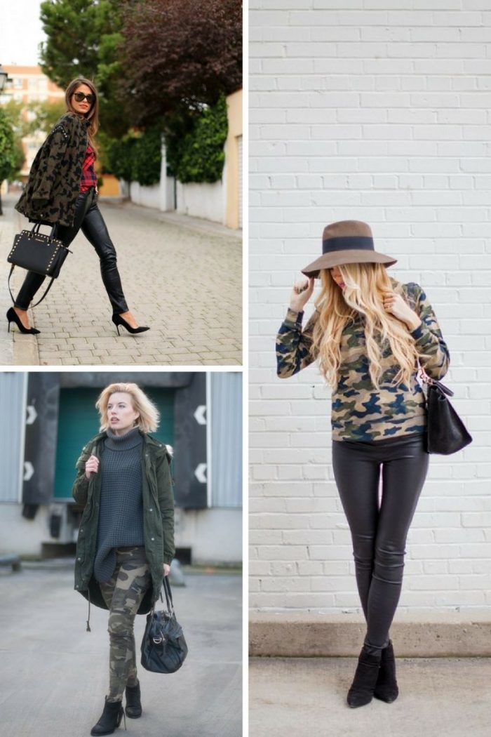 Fall Season Camouflage Fashion For Women 2019