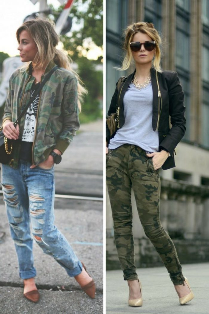 2018 Fall Camouflage Fashion For Women (4)