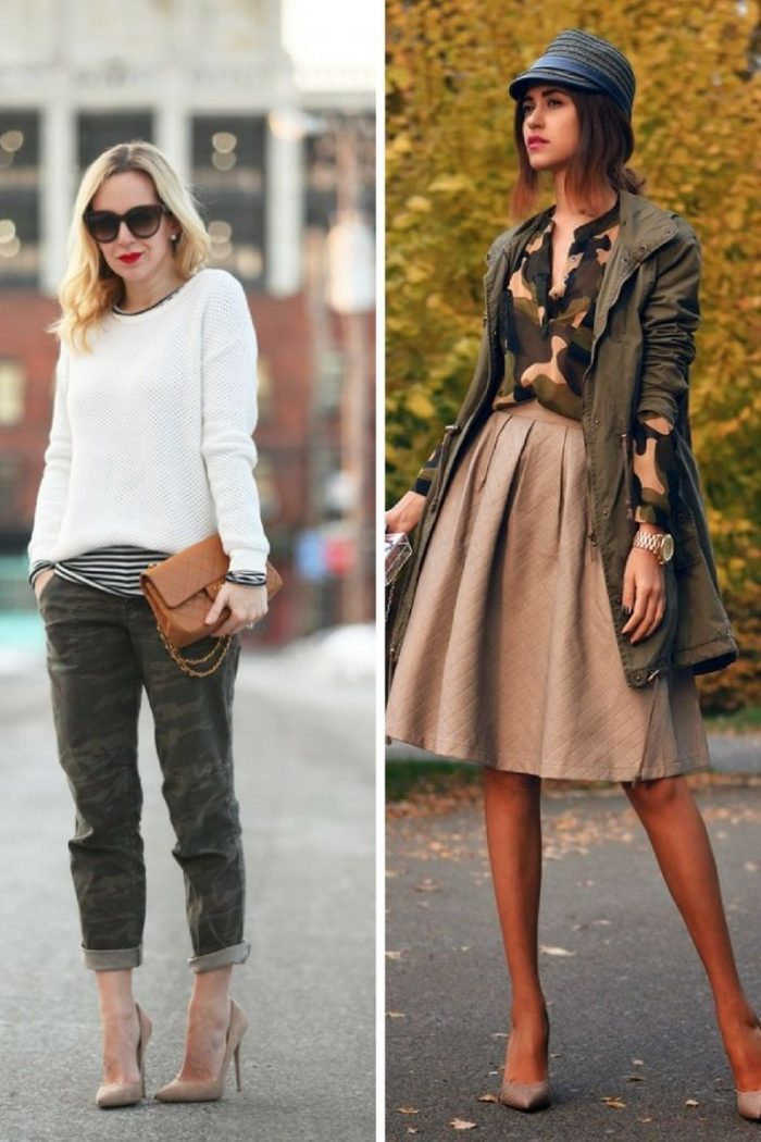 2018 Fall Camouflage Fashion For Women (7)