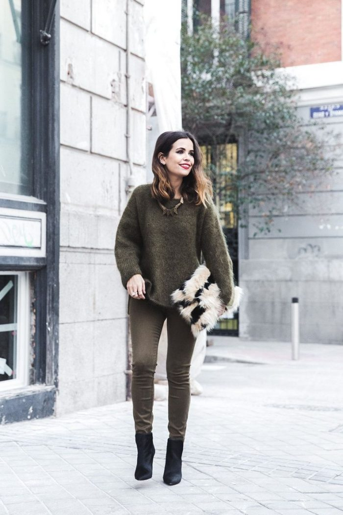 2018 Khaki Pants For Women (1)
