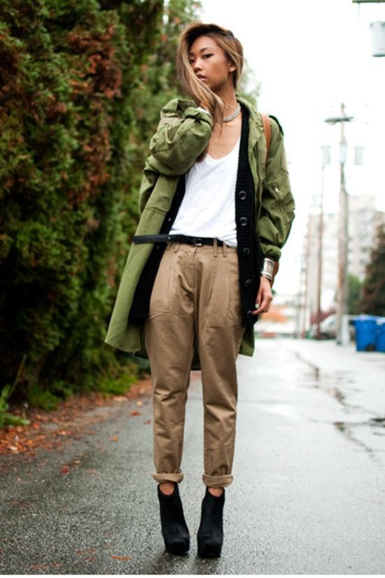 2018 Khaki Pants For Women (15)