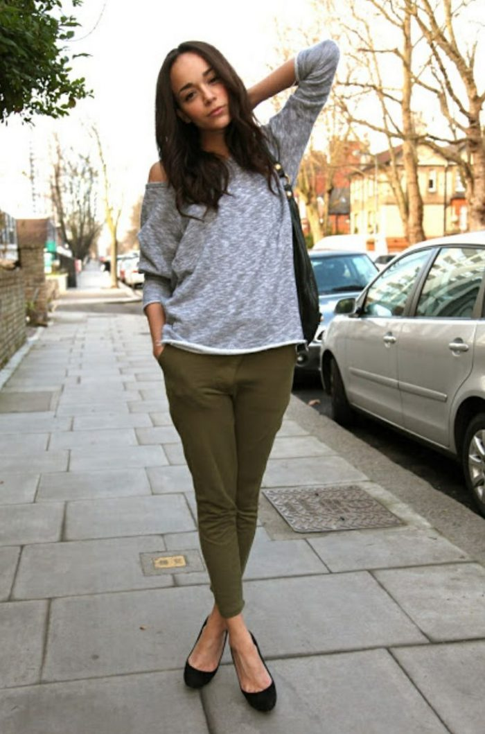 2018 Khaki Pants For Women (3)