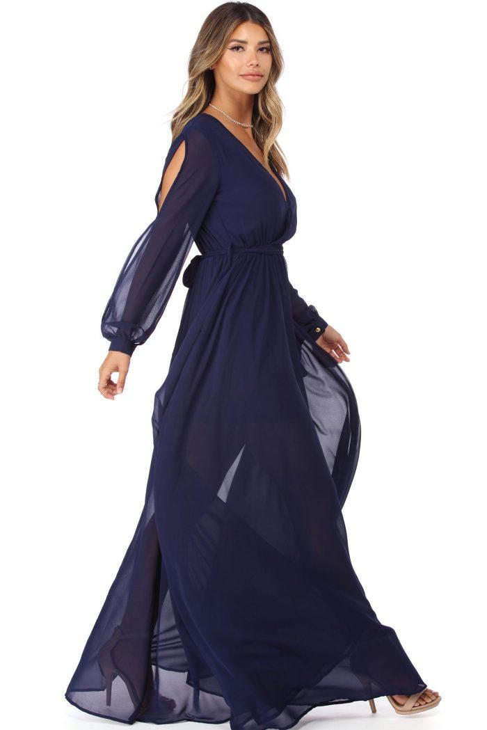2018 Long Sleeve Maxi Dresses (1)