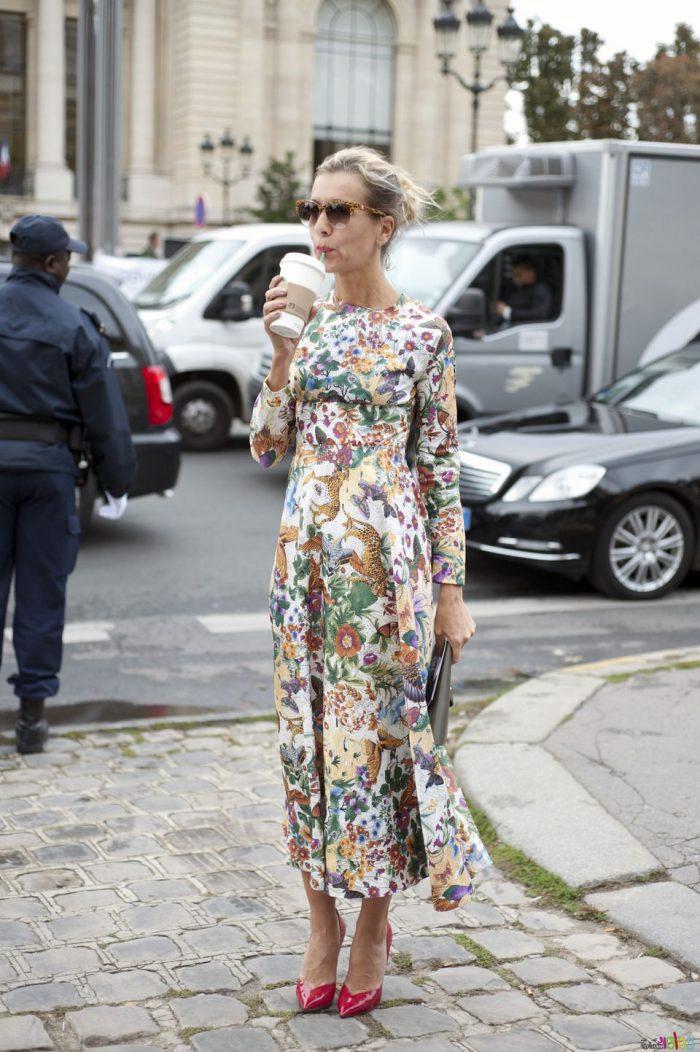 2018 Long Sleeve Maxi Dresses (2)