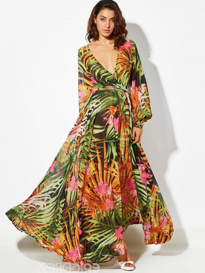 2018 Long Sleeve Maxi Dresses (3)