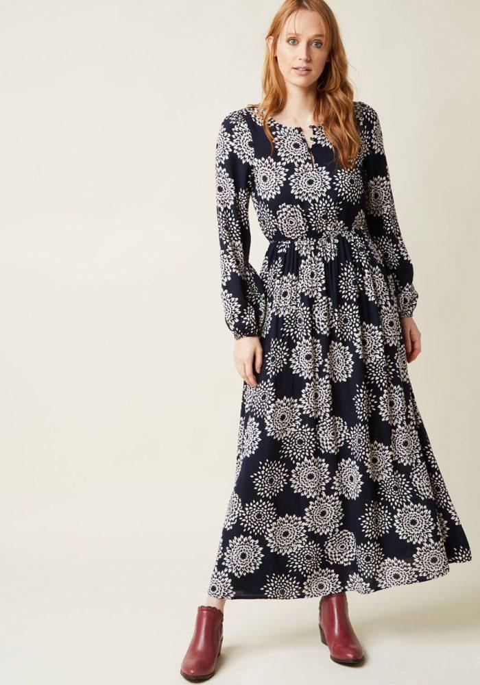 2018 Long Sleeve Maxi Dresses (5)