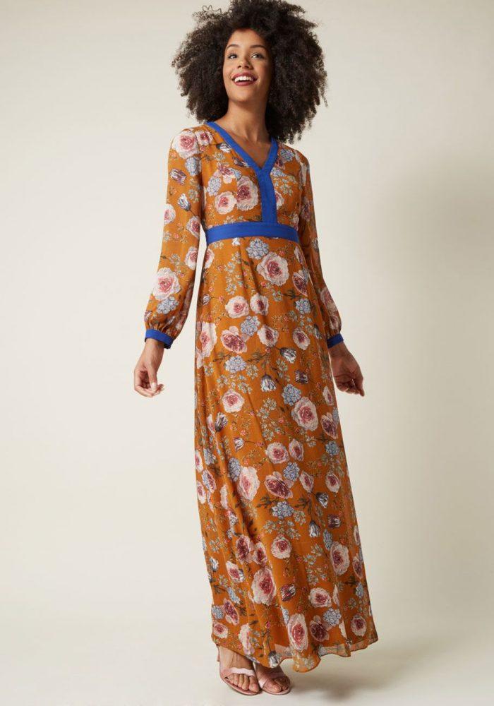 2018 Long Sleeve Maxi Dresses (6)