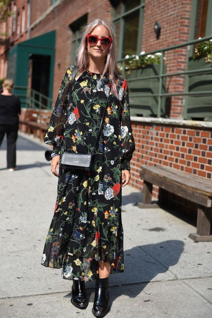 2018 Long Sleeve Maxi Dresses (8)