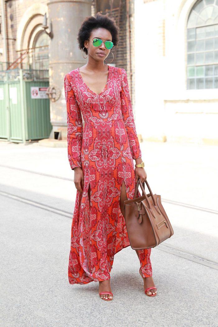 2018 Long Sleeve Maxi Dresses (9)