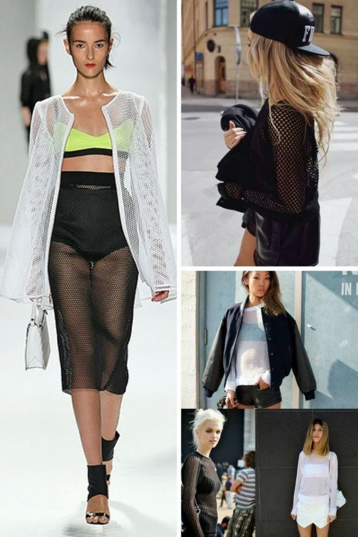 Mesh Clothes For Women 2020