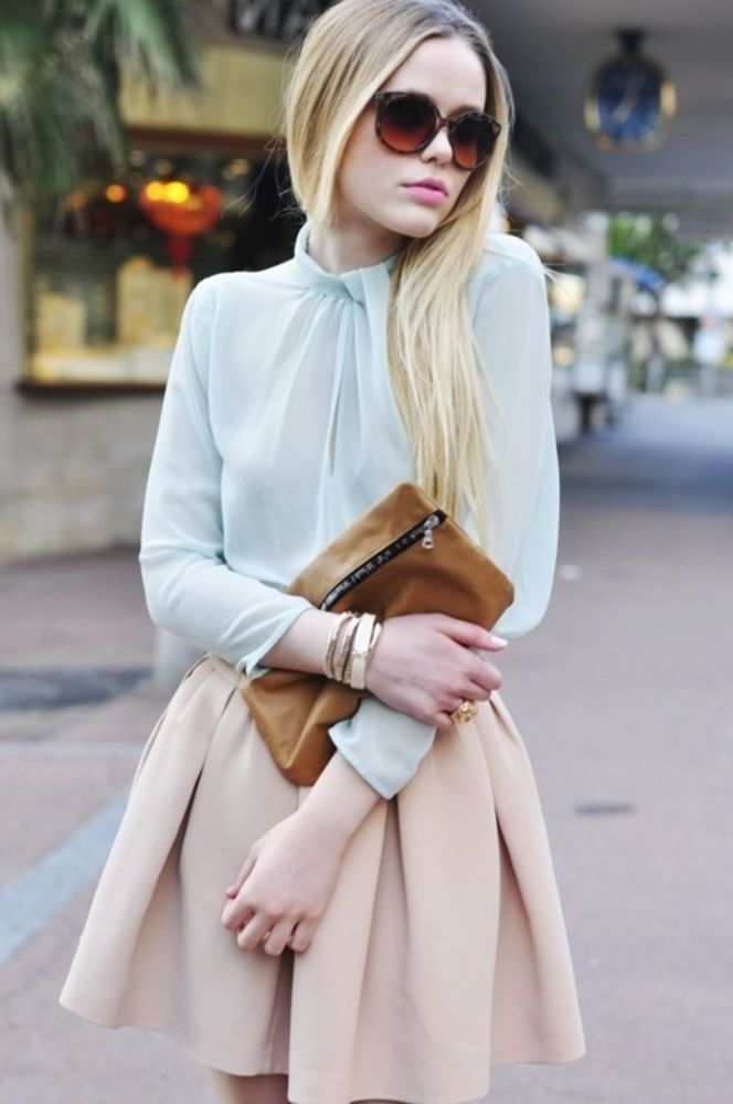 2018 Pastel Colors Trend For Women (11)