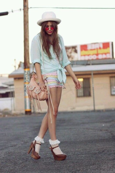 2018 Pastel Colors Trend For Women (15)