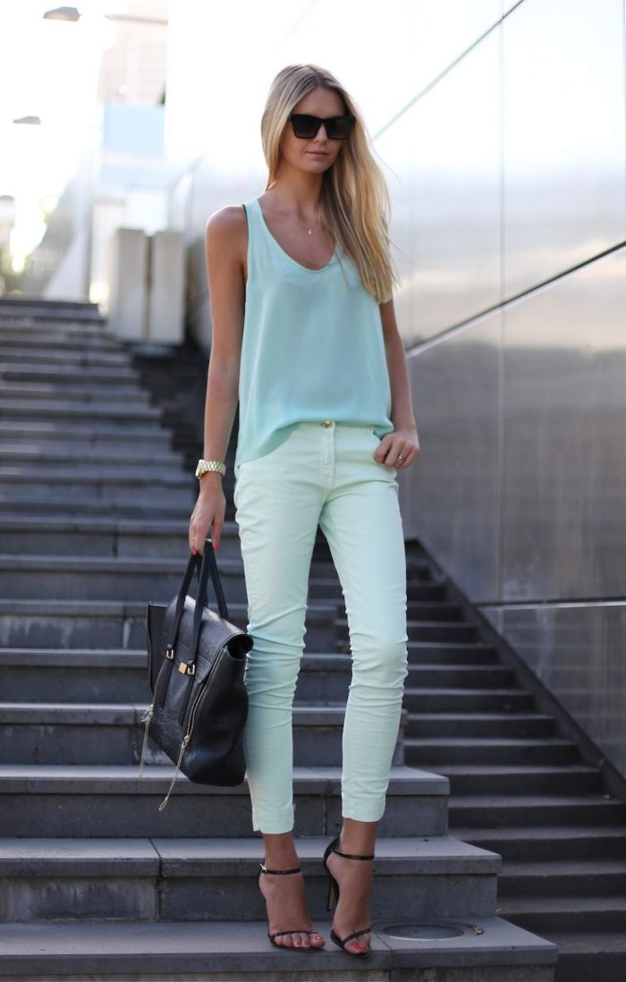 2018 Pastel Colors Trend For Women (4)