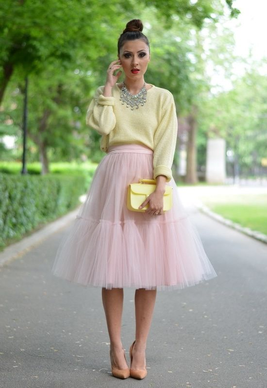 2018 Pastel Colors Trend For Women (7)