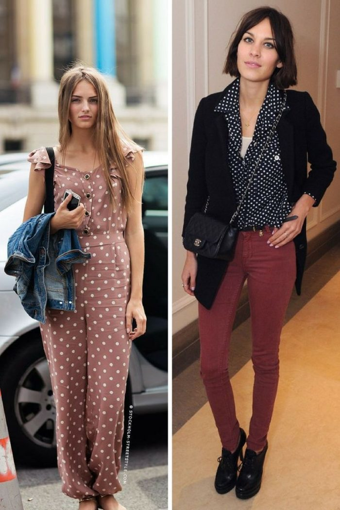 2018 Polka Dots Print For Women (1)