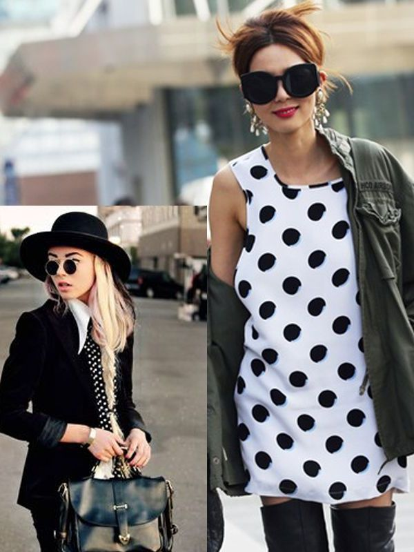 2018 Polka Dots Print For Women (18)