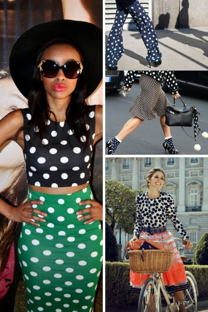 2018 Polka Dots Print For Women (3)