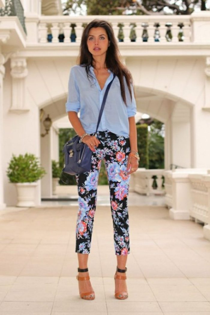 2018 Printed Pants For Women (4)