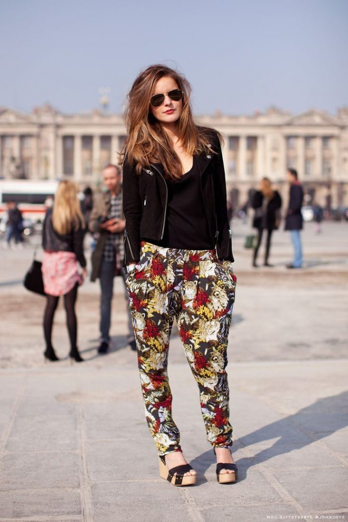 2018 Printed Pants For Women (7)