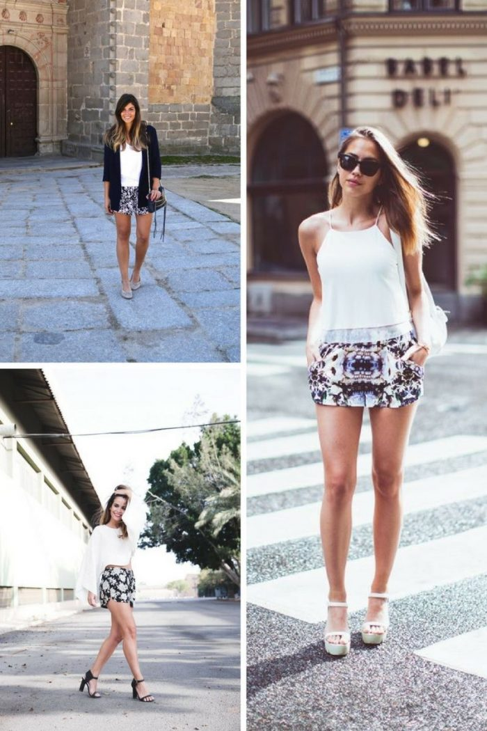 2018 Printed Shorts For Women To Wear This Summer (3)