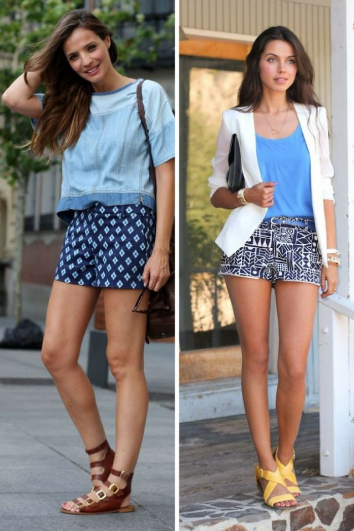 2018 Printed Shorts For Women To Wear This Summer (6)