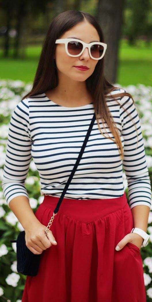 Striped Tops For Women 2019