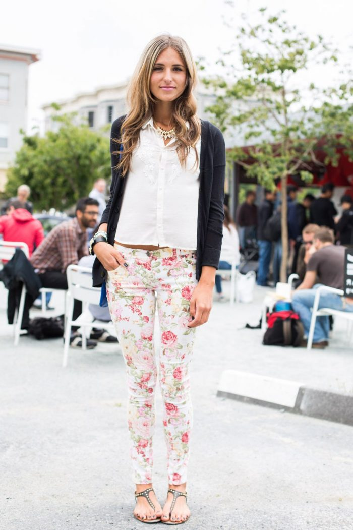 Best Women Floral Pants 2019