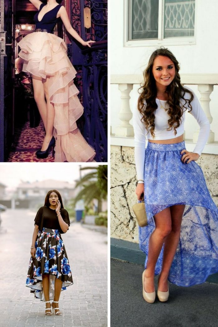 High Low Skirts For Summer 2019