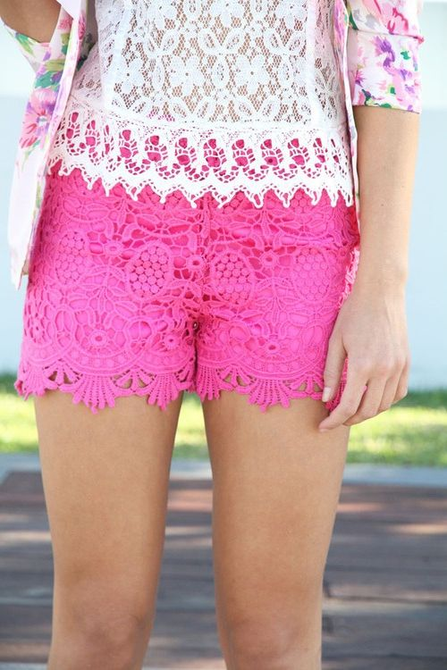 Awesome Summer Lace Shorts For Women 2019
