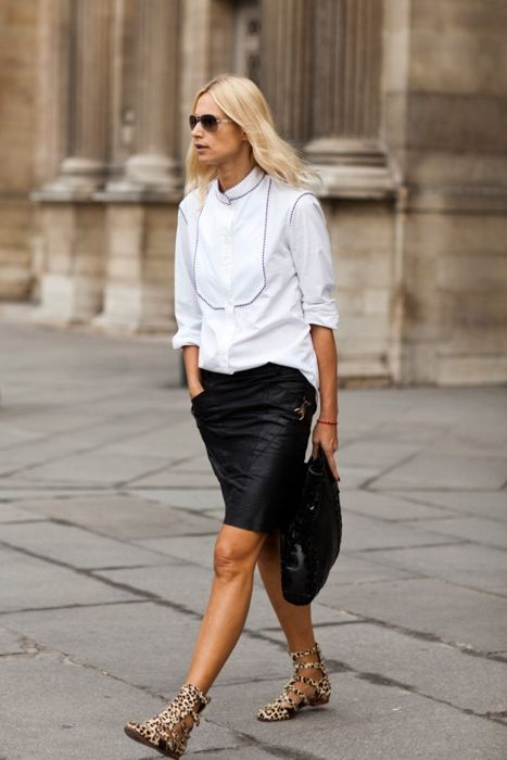29 Leather Skirts To Wear This Summer 2019