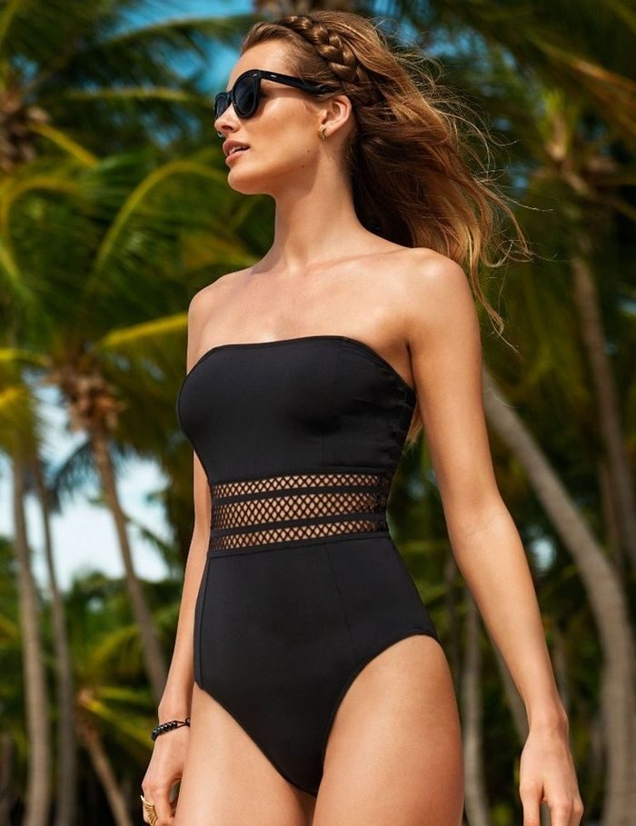 Little Black Swimsuits For Summer 2020
