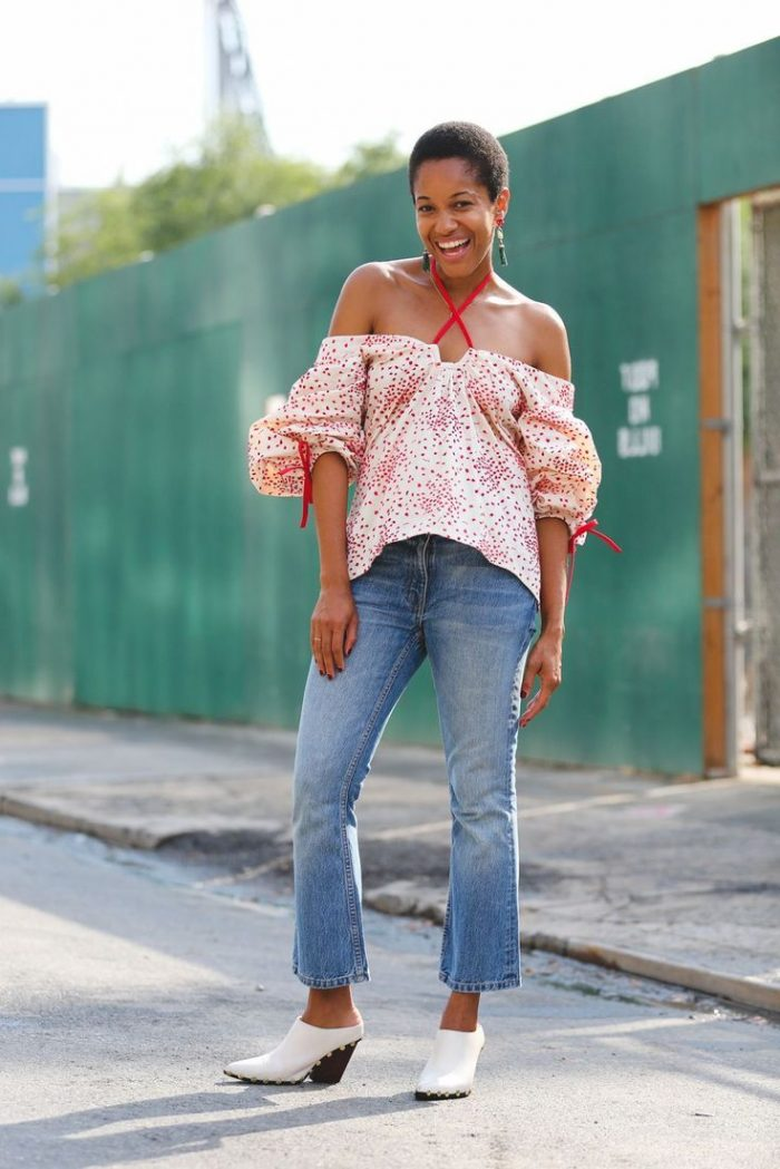 2018 Summer Off Shoulder Trend For Women (1)