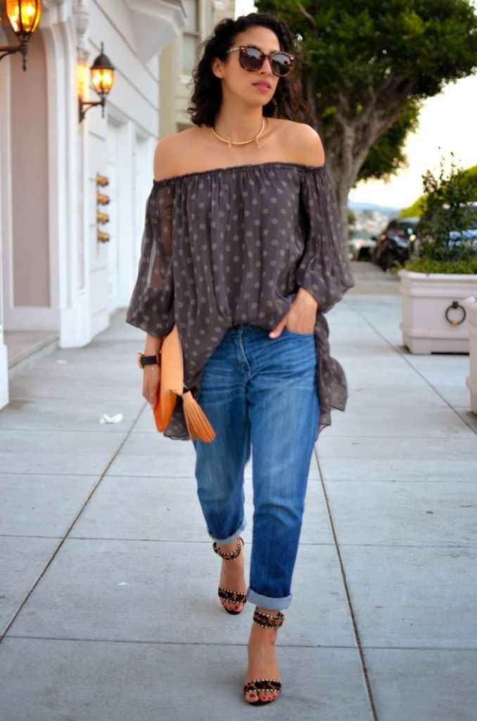 2018 Summer Off Shoulder Trend For Women (15)
