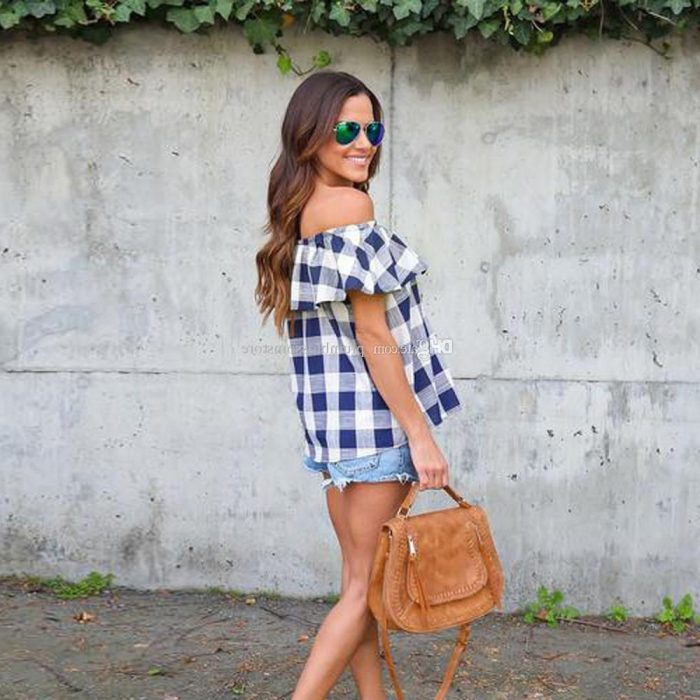 Summer Plaid Print For Women 2020