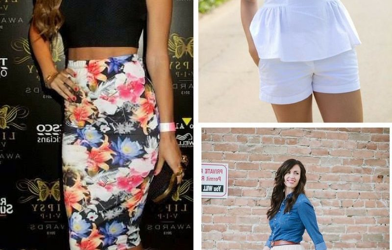 Summer Best Tops And Bottoms Street Style