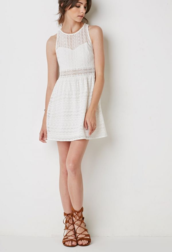 2018 Summer White Dresses (13)